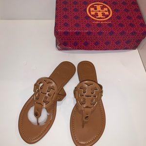 Tory Burch Camel Sandals